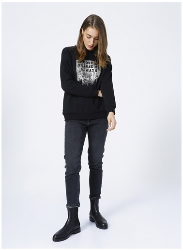 Fashion Friends Sweatshirt Siyah